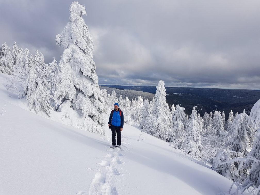 Schneeschuhwanderung, Achtsamkeit, Schwarzwald, Meditation