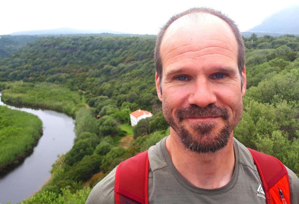 Beschreibung David Wolf als Wander-Guide für Achtsamkeit und Meditation im Schwarzwald